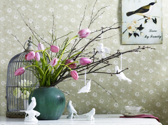 Fresh Early Bloomers Decorating Ideas for Valentine (23)