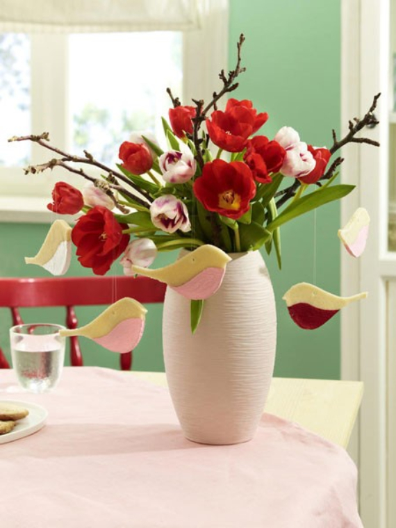 Fresh Early Bloomers Decorating Ideas for Valentine (30)