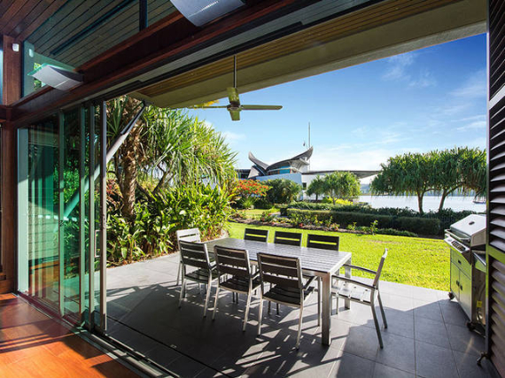 Luxury Yacht Club Villa 6 Blending in With Sea Waters Hamilton Island, Queensland, Australia (30)