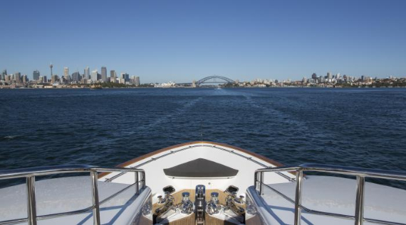 Masteka II, Luxury Private Charter Cruise Boat on Sydney Harbour, Australia (1)