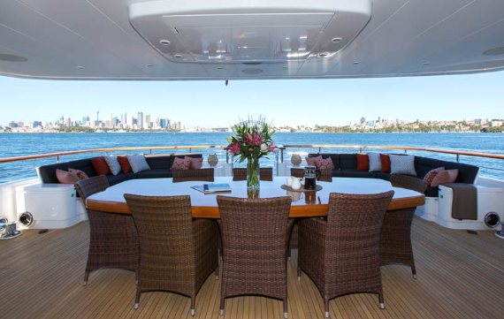 Masteka II, Luxury Private Charter Cruise Boat on Sydney Harbour, Australia (4)