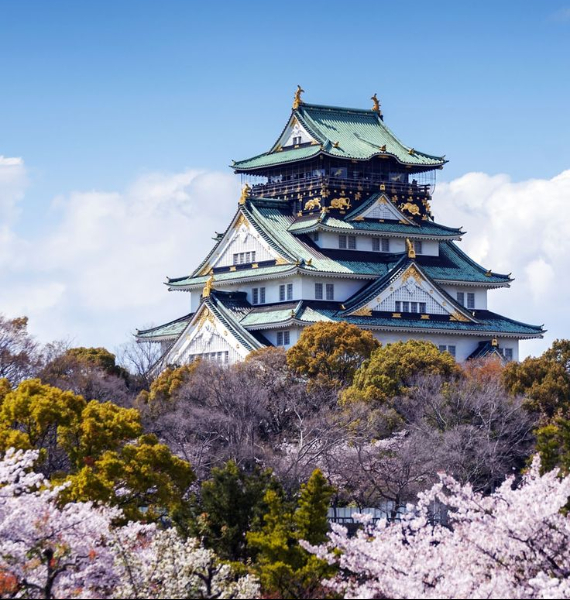 The Harmony and Beauty outside the Osaka Castle Japan (13)