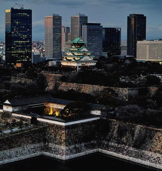 The Harmony and Beauty outside the Osaka Castle Japan (16)