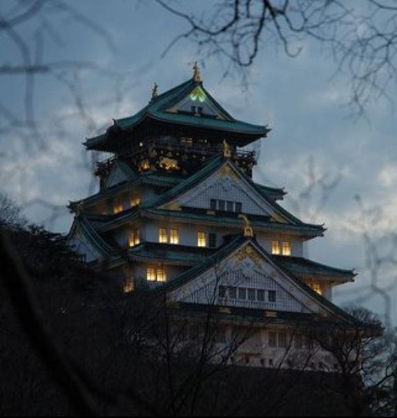 The Harmony and Beauty outside the Osaka Castle Japan (18)