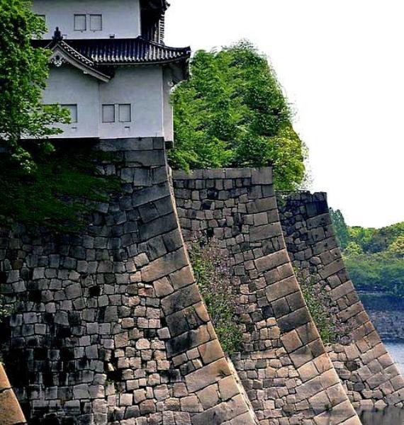 The Harmony and Beauty outside the Osaka Castle Japan (2)