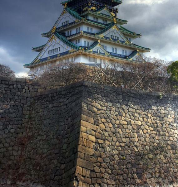 The Harmony and Beauty outside the Osaka Castle Japan (25)