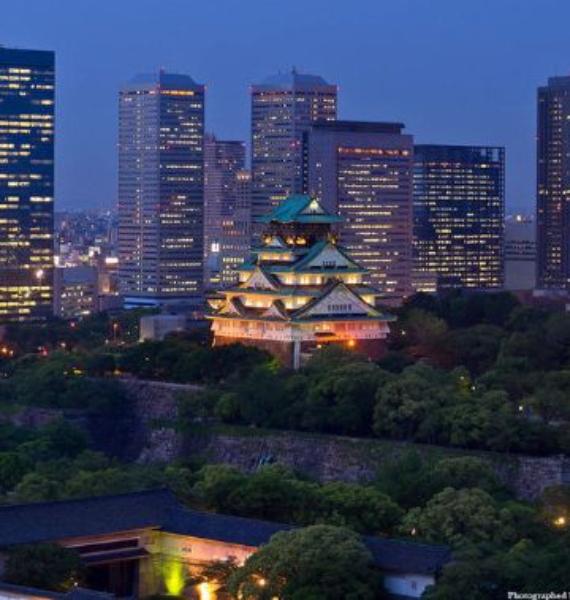The Harmony and Beauty outside the Osaka Castle Japan (27)