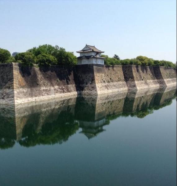 The Harmony and Beauty outside the Osaka Castle Japan (28)