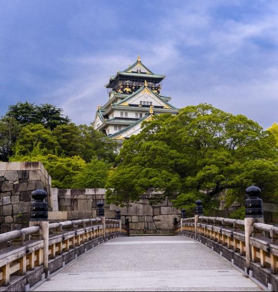 The Harmony and Beauty outside the Osaka Castle Japan (31)