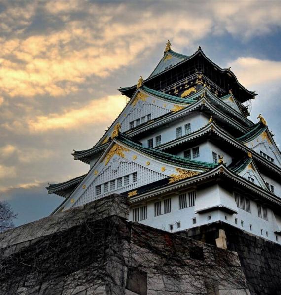 The Harmony and Beauty outside the Osaka Castle Japan (8)
