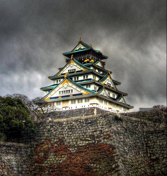 The Harmony and Beauty outside the Osaka Castle Japan (9)