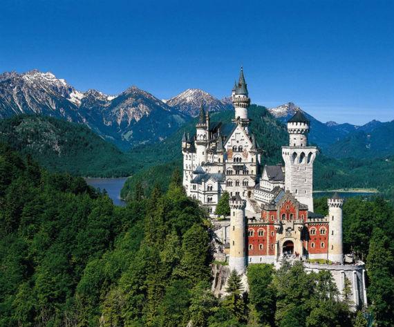 The Swan King's Castles Neuschwanstein– Germany (15)