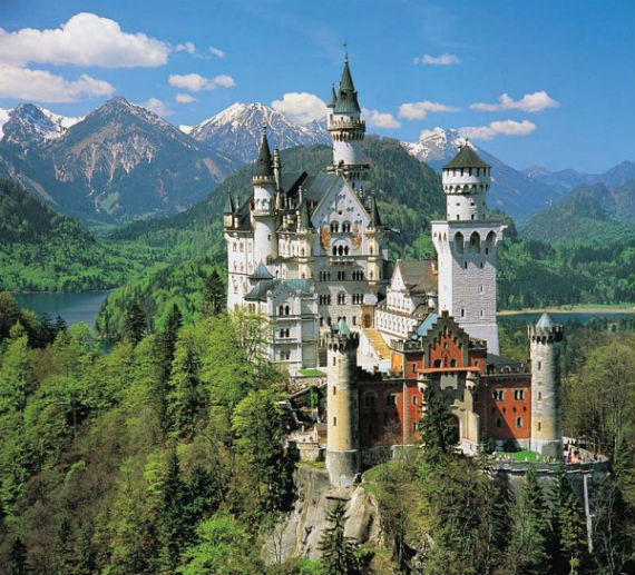 The Swan King's Castles Neuschwanstein– Germany (17)