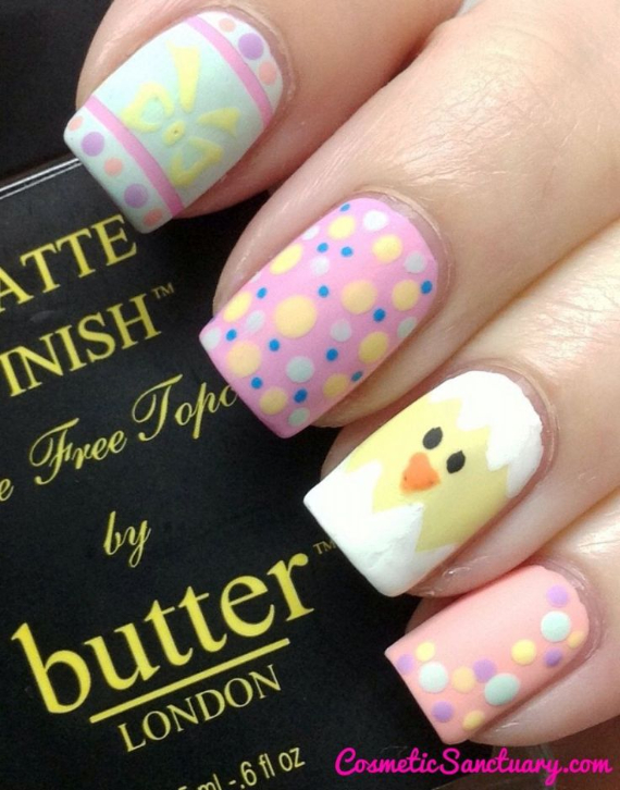 25 Adorable Easter Nails To Get You In The Holiday Pastel Mood (13)