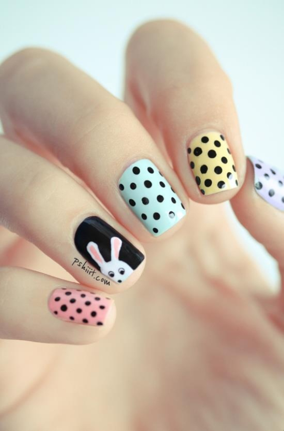 25 Adorable Easter Nails To Get You In The Holiday Pastel Mood (17)