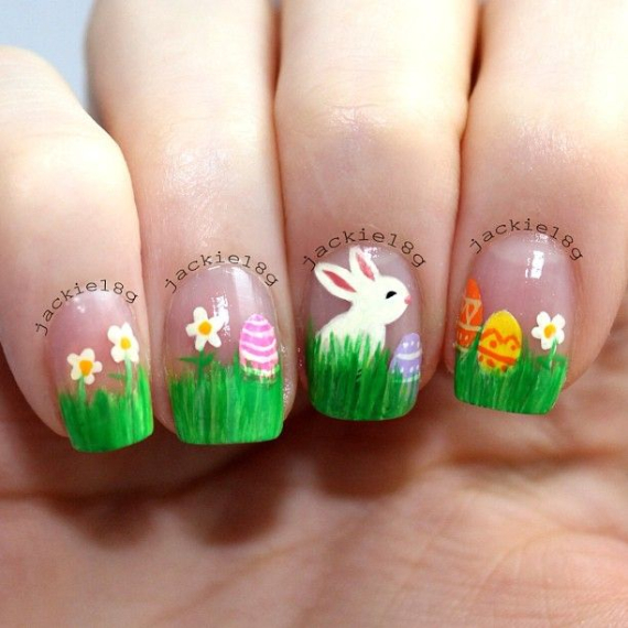 25 Adorable Easter Nails To Get You In The Holiday Pastel Mood (19)