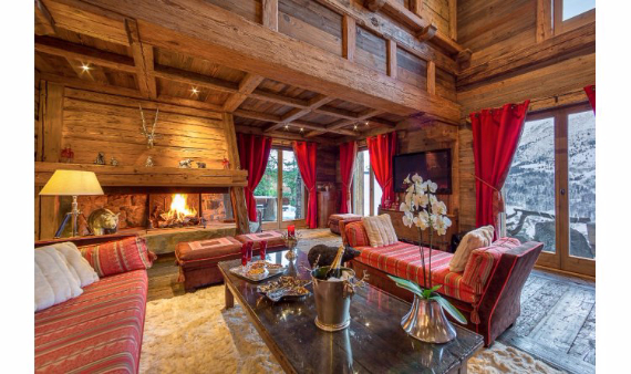 Chalet Druchka, Luxury Vacation Chalet Rental Meribel, France (10)