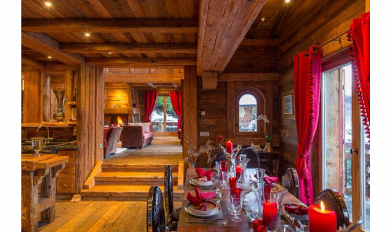 Chalet Druchka, Luxury Vacation Chalet Rental Meribel, France (11)