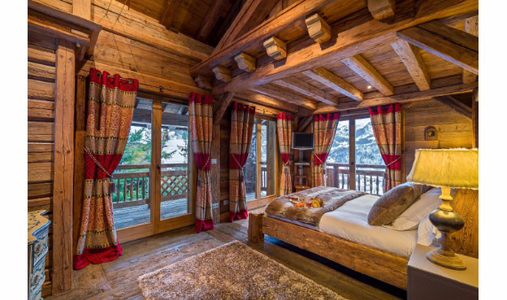 Chalet Druchka, Luxury Vacation Chalet Rental Meribel, France (14)