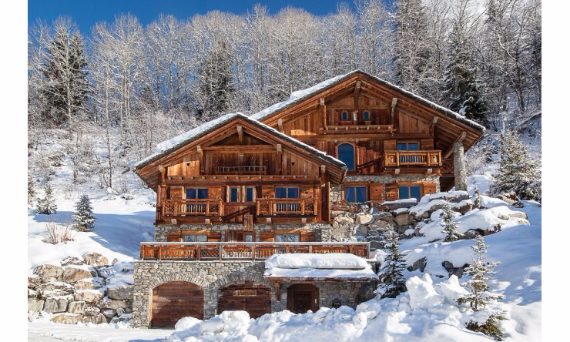 Chalet Druchka, Luxury Vacation Chalet Rental Meribel, France (22)