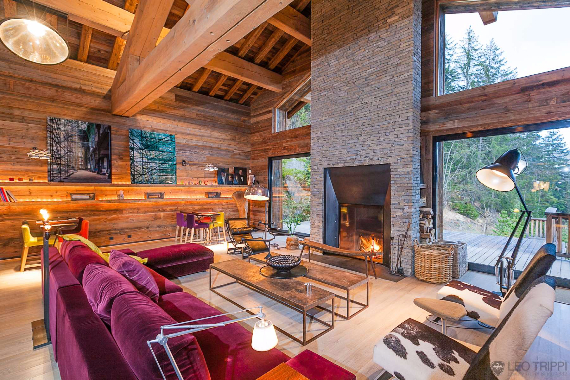 Chalet Druchka, Luxury Vacation Chalet Rental Meribel, France (25)