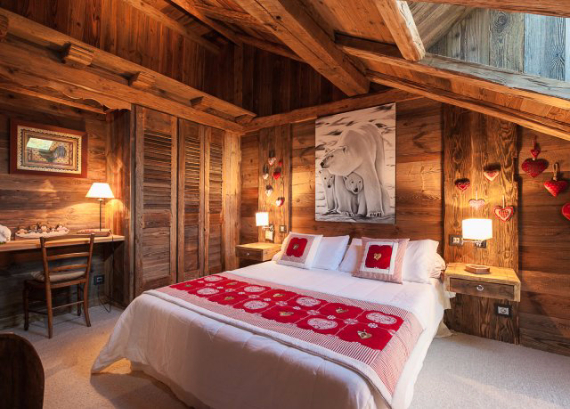 Chalet Druchka, Luxury Vacation Chalet Rental Meribel, France (26)