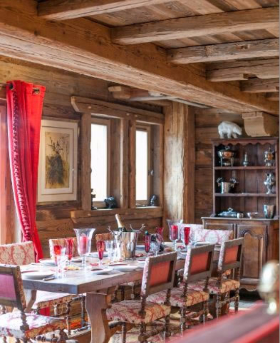 Chalet Druchka, Luxury Vacation Chalet Rental Meribel, France (28)