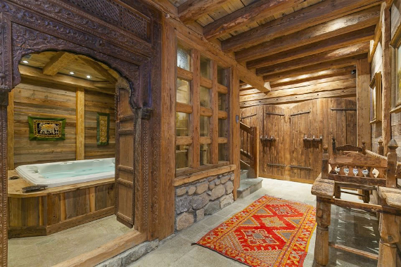 Chalet Druchka, Luxury Vacation Chalet Rental Meribel, France (29)