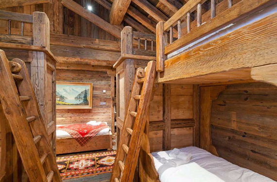 Chalet Druchka, Luxury Vacation Chalet Rental Meribel, France (6)