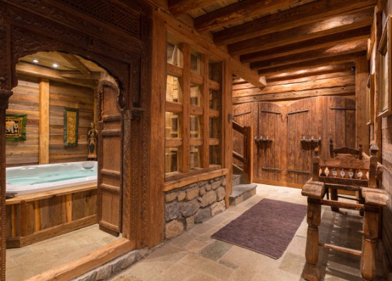 Chalet Druchka, Luxury Vacation Chalet Rental Meribel, France (7)