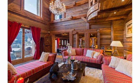 Chalet Druchka, Luxury Vacation Chalet Rental Meribel, France (9)