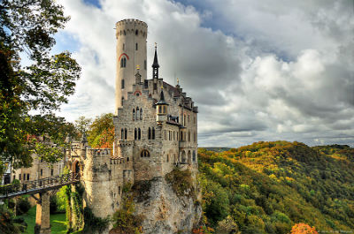 Lichtenstein Castle -The Only True Fairytale Castle-Germany
