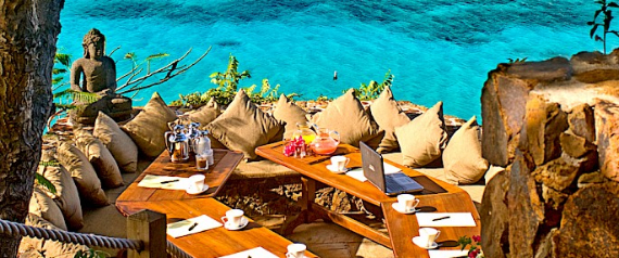 Living The Dream- Exotic Getaway Hiding Out In Style at Necker Island (14)