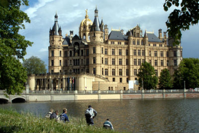 The Jewel Of Lake Schwerin- Schwerin Castle And Park