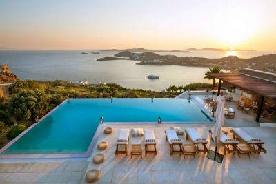 Villa Agi Lazro One Of The Hidden Holiday Homes Of Mykonos Greece