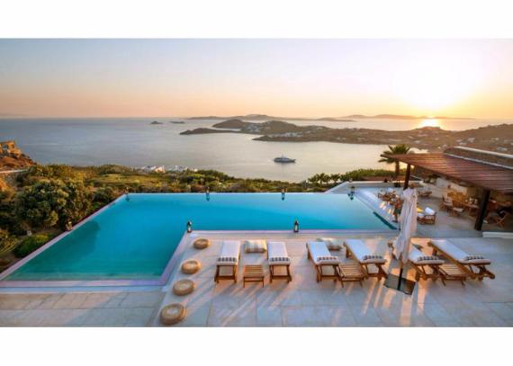 Villa Agi Lazro, One Of The Hidden Holiday Homes Of Mykonos Greece (16)