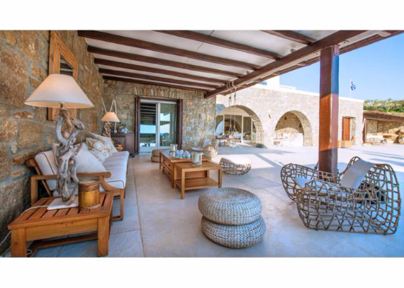Villa Agi Lazro, One Of The Hidden Holiday Homes Of Mykonos Greece (17)