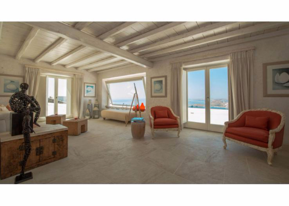 Villa Agi Lazro, One Of The Hidden Holiday Homes Of Mykonos Greece (31)