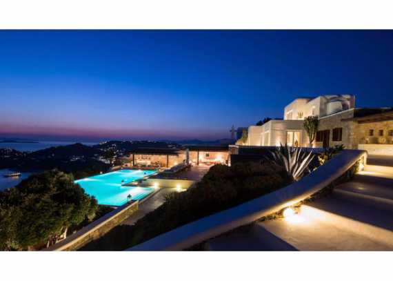 Villa Agi Lazro, One Of The Hidden Holiday Homes Of Mykonos Greece (8)