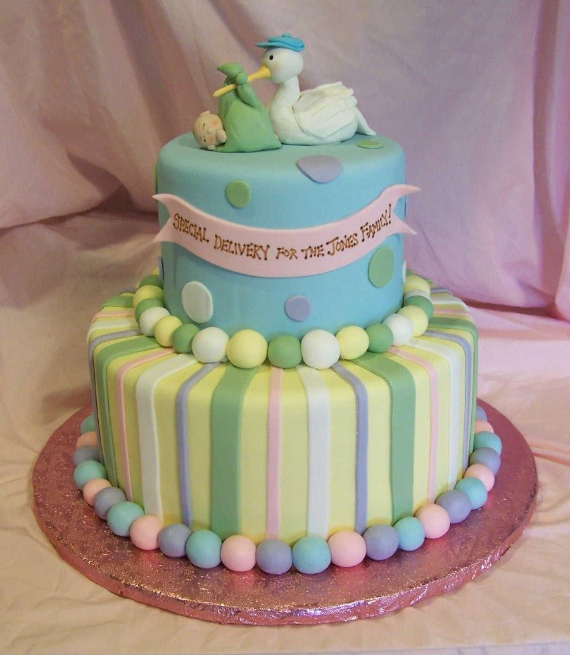 50 Gorgeous Baby Shower Cakes (18)