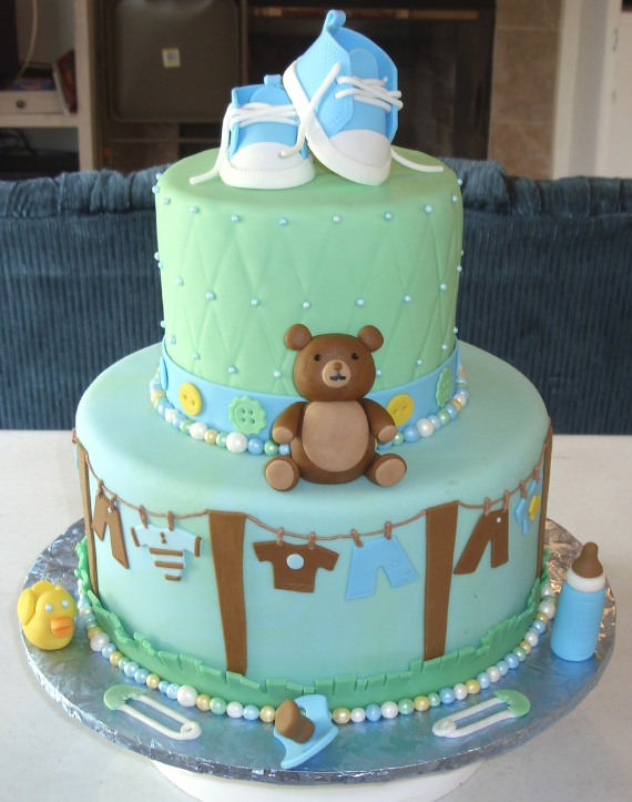 50 Gorgeous Baby Shower Cakes (25)