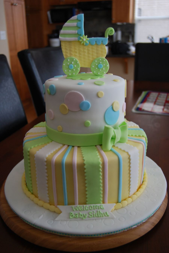 50 Gorgeous Baby Shower Cakes (47)