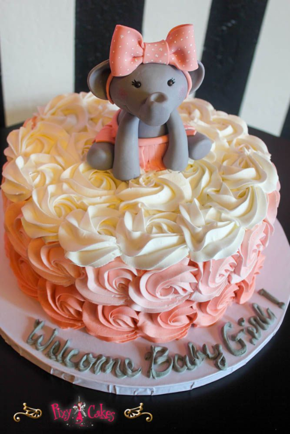 50 Gorgeous Baby Shower Cakes (52)