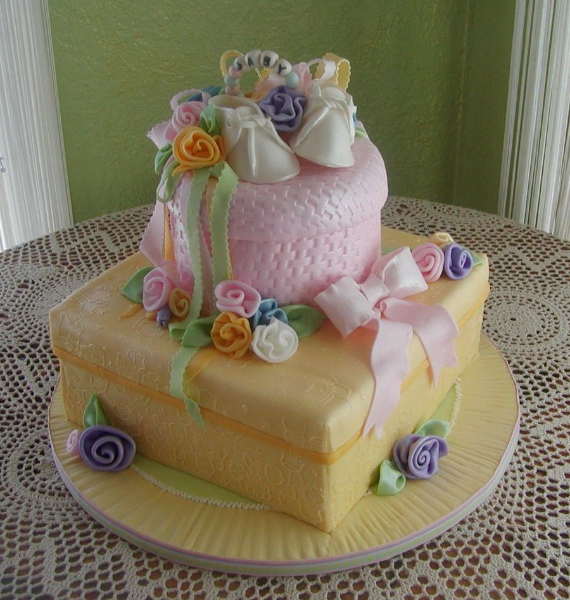 50 Gorgeous Baby Shower Cakes (56)