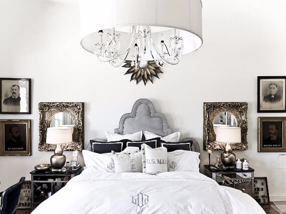 Elegant and Stylish Holiday Bedding Ideas For A Luxurious, Hotel-Like Bed (10)