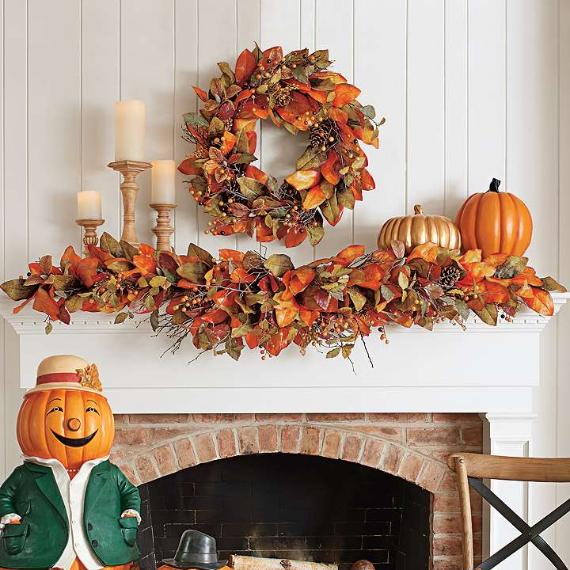 35 Warm & Friendly Fall Decorating Ideas (14)
