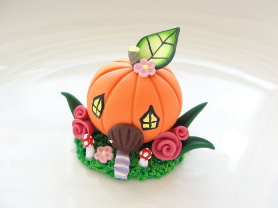 Thanksgiving and Fall Polymer Clay Craft Projects (23)