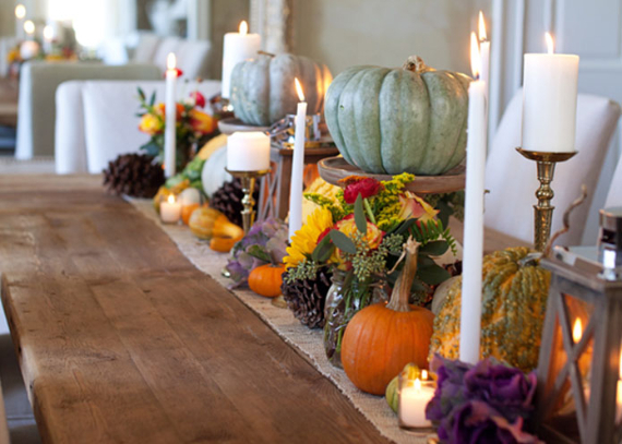 Warm and Inviting Thanksgiving Centerpiece Ideas  (13)