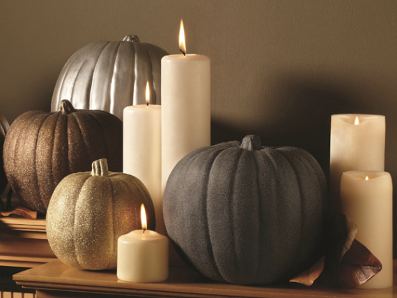 Warm and Inviting Thanksgiving Centerpiece Ideas  (22)