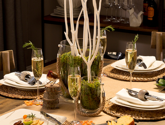 Warm and Inviting Thanksgiving Centerpiece Ideas  (3)